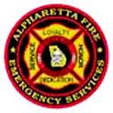 Alpharetta Fire logo