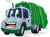cartoon truck at 160